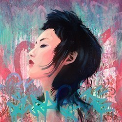 Passion & Grace by Troika -  sized 24x24 inches. Available from Whitewall Galleries